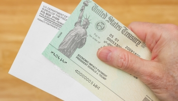 Economic Impact Payment Check and Envelope